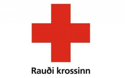 Red cross of Egilsstadir