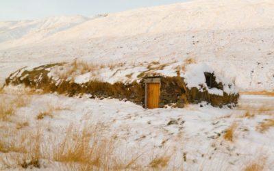 The turf houses of Hjarðarhagi farm