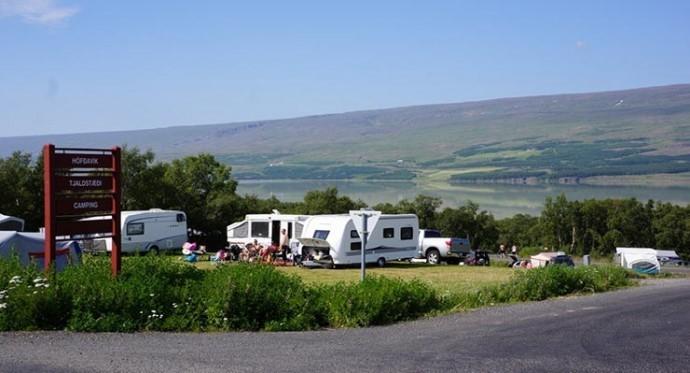 Hallormsstaður camping site