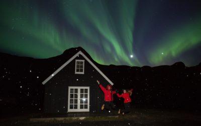 Northern Lights around Egilsstaðir