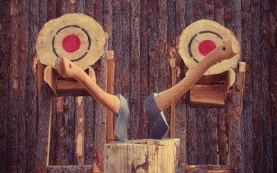 Viking throw – axe throwing